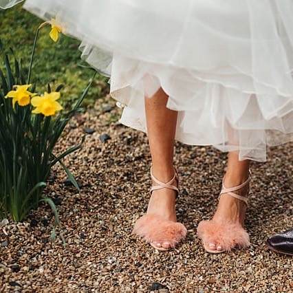Todays gorgeous bride Sarah giving us serious shoe envy withhellip